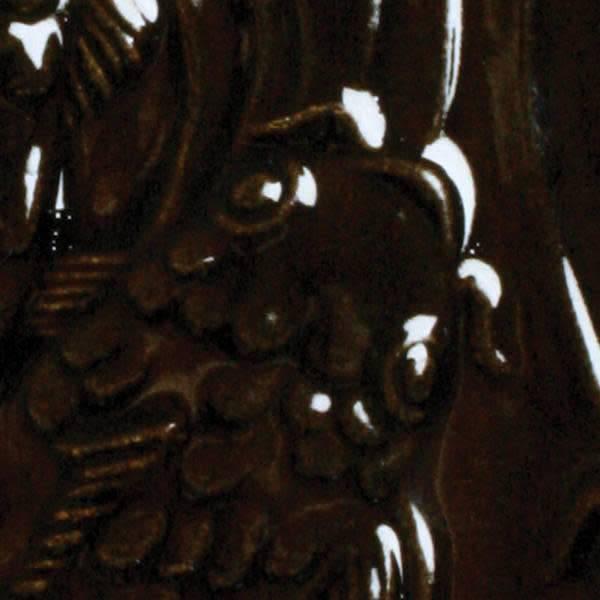 Amaco Low Fire Gloss Glaze Metallic Brown LG-32