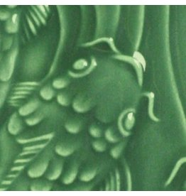Amaco Low Fire Gloss Glaze Dark Green LG-40