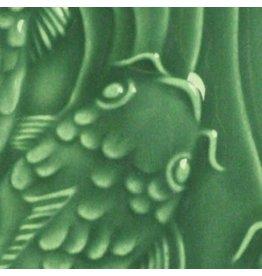 Amaco Low Fire Gloss Glaze Dark Green LG-40