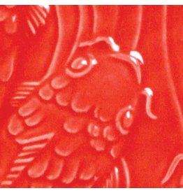 Amaco Low Fire Gloss Glaze Hot Red LG-59