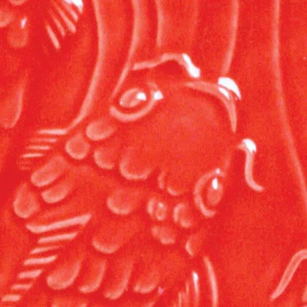 Amaco Low Fire Gloss Glaze Hot Red LG-59
