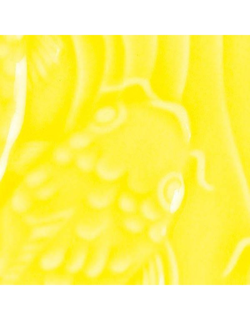 Amaco Low Fire Gloss Glaze Canary Yellow LG-61