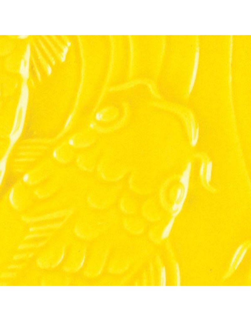 Amaco Low Fire Gloss Glaze Brilliant Yellow LG-63