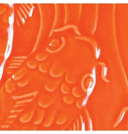 Amaco Low Fire Gloss Glaze Fire Orange LG-67