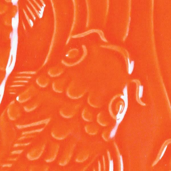 Amaco Low Fire Gloss Glaze Fire Orange LG-67