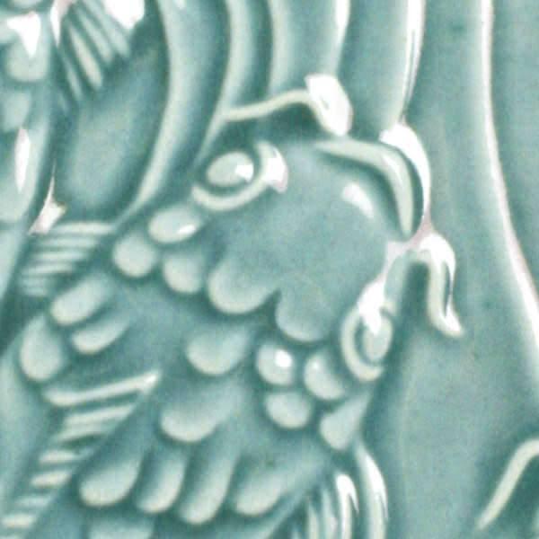 Amaco Low Fire Gloss Glaze Turquoise Green LG-25