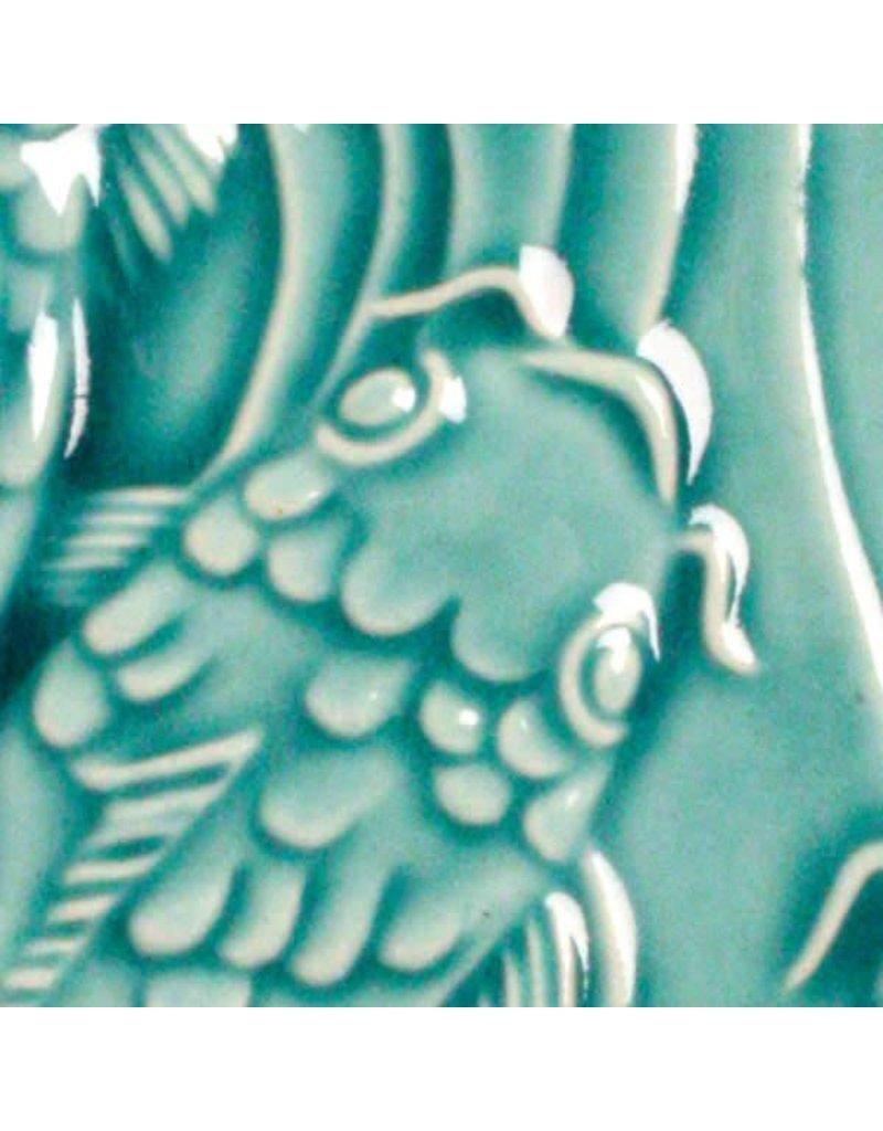 Amaco Low Fire Gloss Glaze Turquoise LG-26