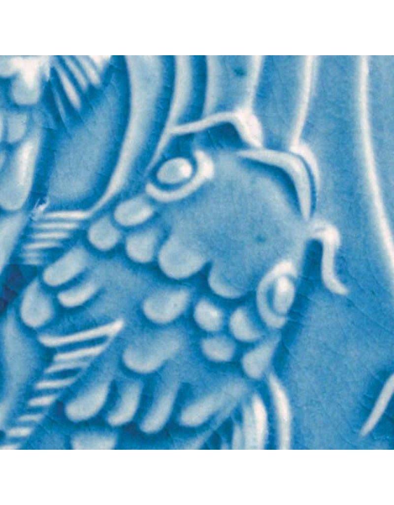 Amaco Low Fire Gloss Glaze Turquoise Crackle LG-27