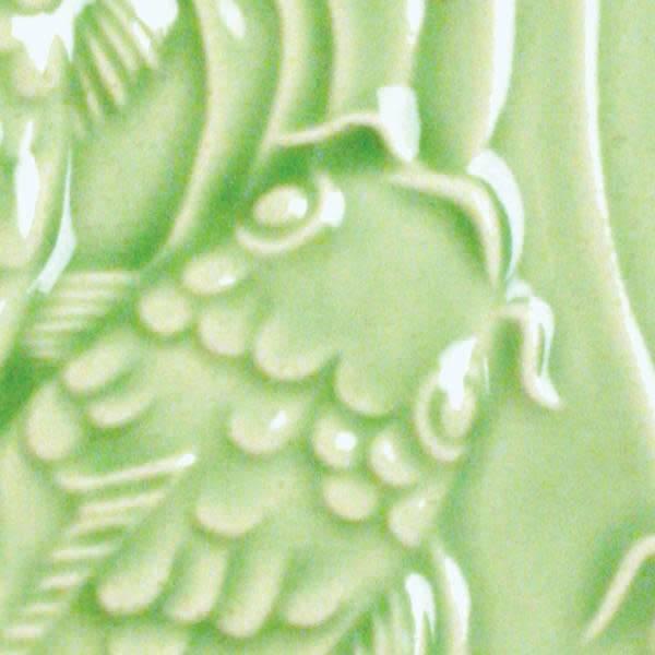 Amaco Low Fire Gloss Glaze Emerald Green LG-45