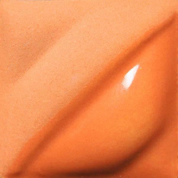Amaco Velvet Underglaze 2oz Real Orane V-384