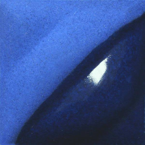 Amaco Velvet Underglaze 2oz Electric Blue V-386
