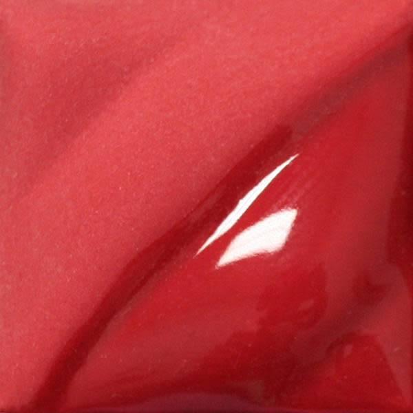 Amaco Velvet Underglaze 2oz Bright Red V-387