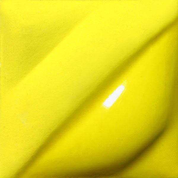 Amaco Velvet Underglaze 2oz Intense Yellow V-391