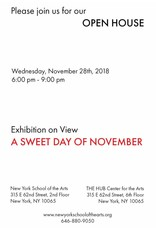 181128 New York School of the Arts Open House