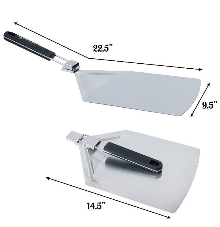 Teflon coated Folding spatula