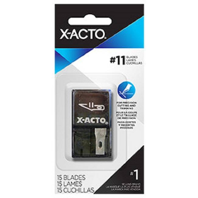 X-ACTO #11 Classic Fine Point Blade 15pc