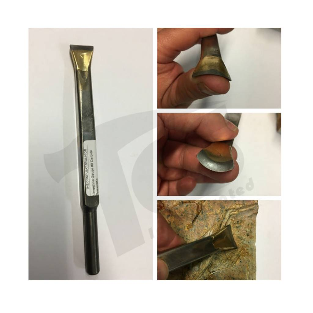 Limestone Gouge #9 Carbide Pneumatic