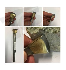 Limestone Gouge #12 Carbide Pneumatic