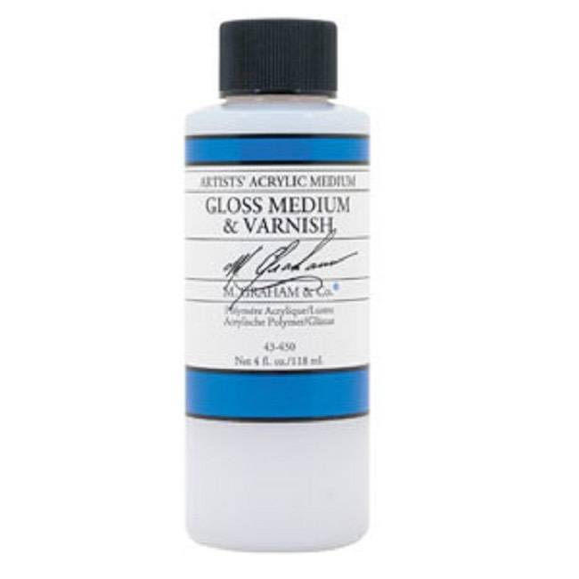 Clear Gloss Medium 4oz