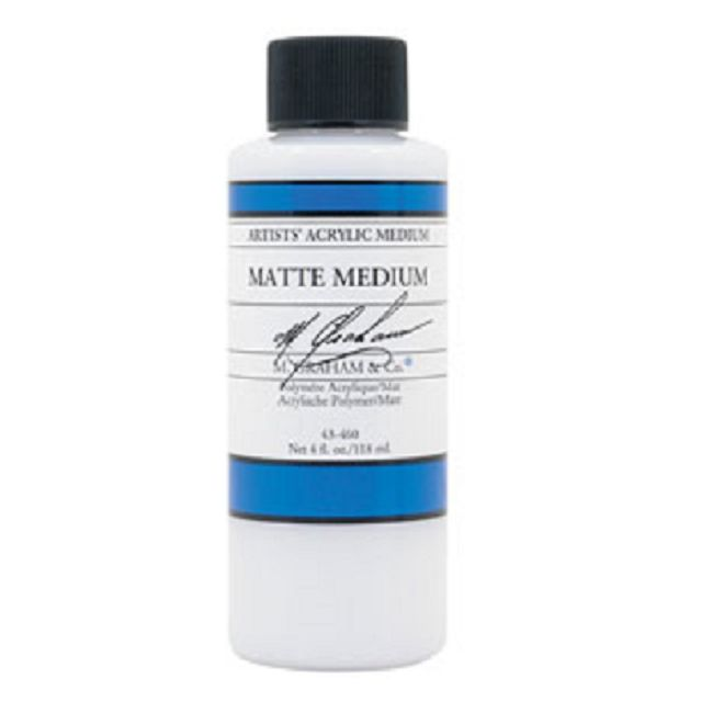 Clear Matte Medium 4oz