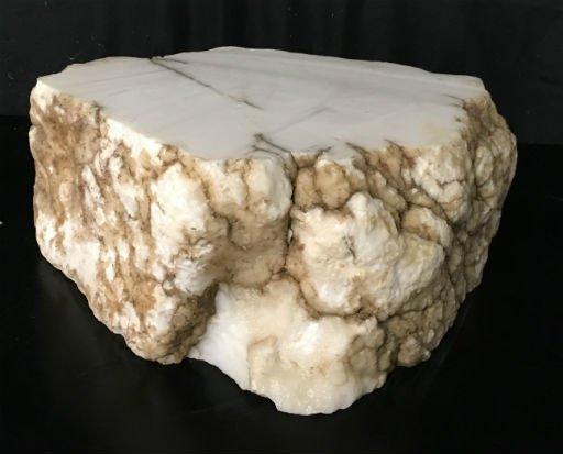 Stone 80lb Tirafsci's White Opaque Slab 18x14x6 #111064