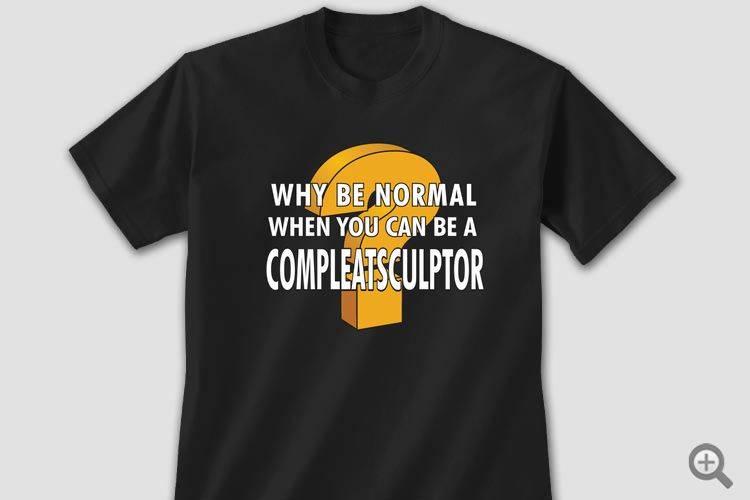 Just Sculpt T-Shirts