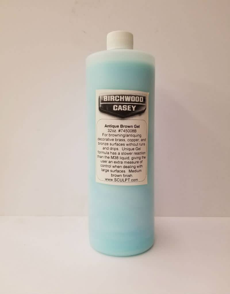 Birchwood Casey Antique Brown Gel 32oz