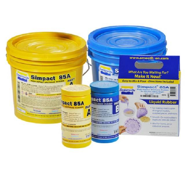 Smooth-On Simpact 85A Trial Kit Special Order