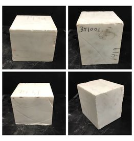 26lb Vermont Marble Veined White 7x7x6 #351001