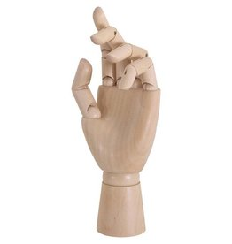 Female Manikin Left Hand 8""