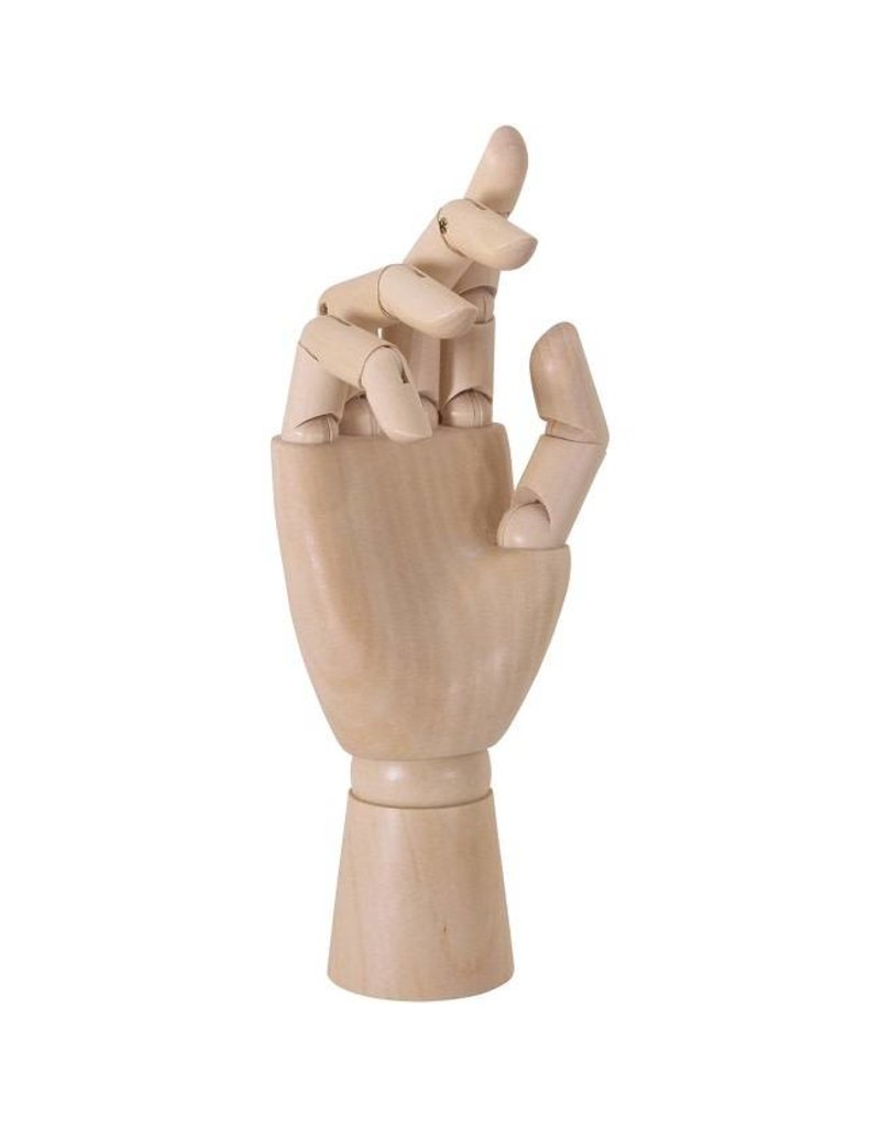 "Just Sculpt Female Manikin Right Hand 8"""