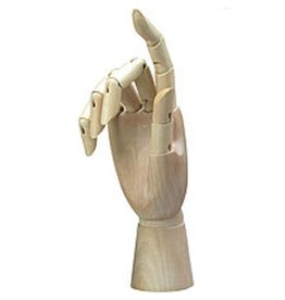Manikin Right Hand 12""