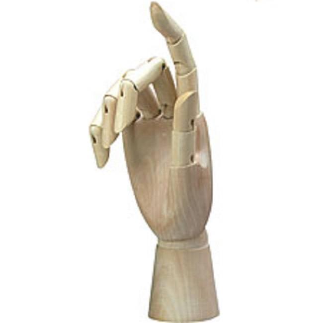 "Just Sculpt Manikin Right Hand 12"""