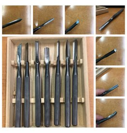 Kanzaki Sculpture Tools set of 7