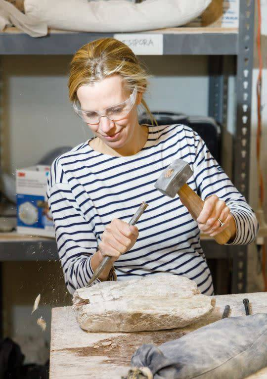 190600 Stone Carving Wednesday Afternoon Class June