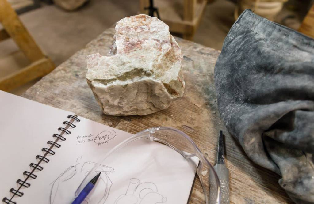 190100 Stone Carving Wednesday Afternoon Class January