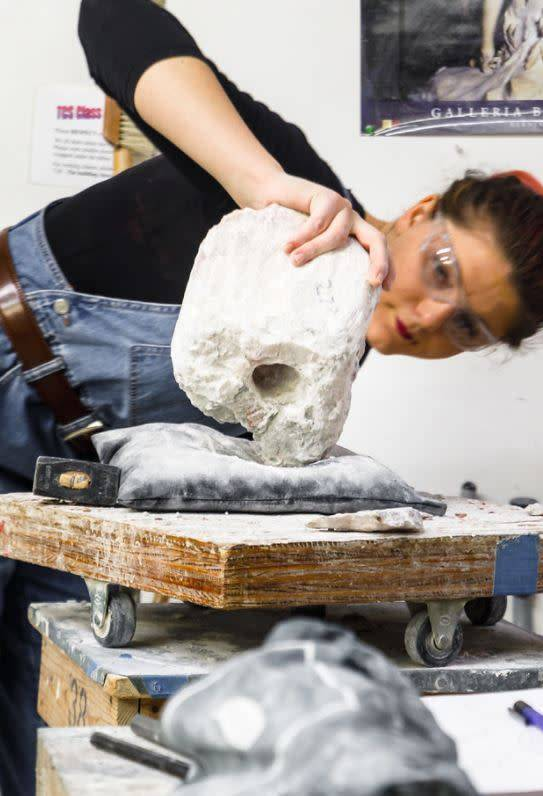 190100 Stone Carving Wednesday Evening Class January