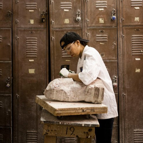 190400 Stone Carving Wednesday Evening Class April