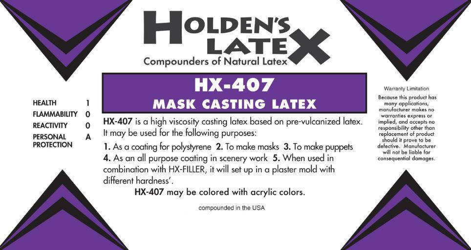 Holden's Latex Latex HX-407 Gallon