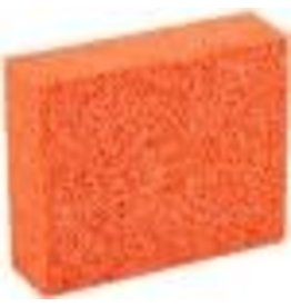 Orange Stipple Sponge Large