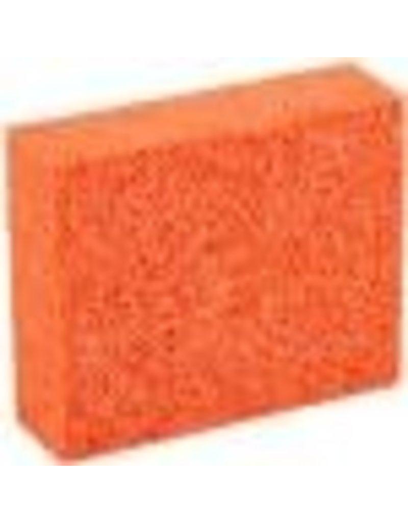 Just Sculpt Orange Stipple Sponge Medium