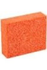 Orange Stipple Sponge Medium