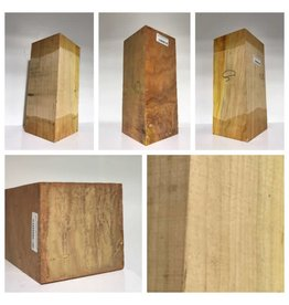 Wood Black Cherry Block 5''x5''x12''