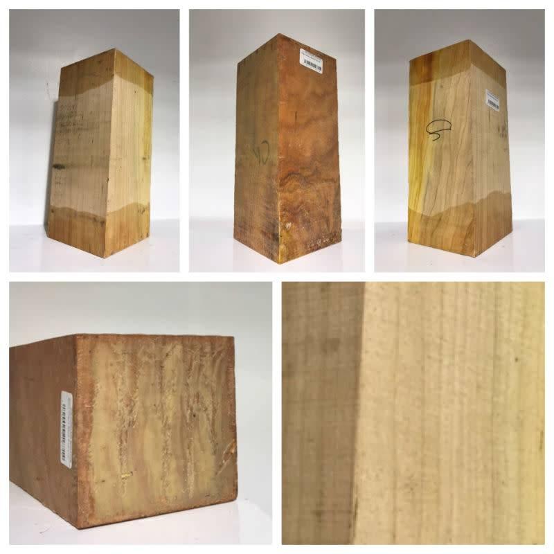 Wood Black Cherry Block 5''x5''x12''