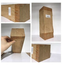 Wood Cherry Block 4''x4''x11''