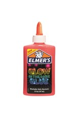 Elmer's Pink Glow in the Dark Glue 5oz