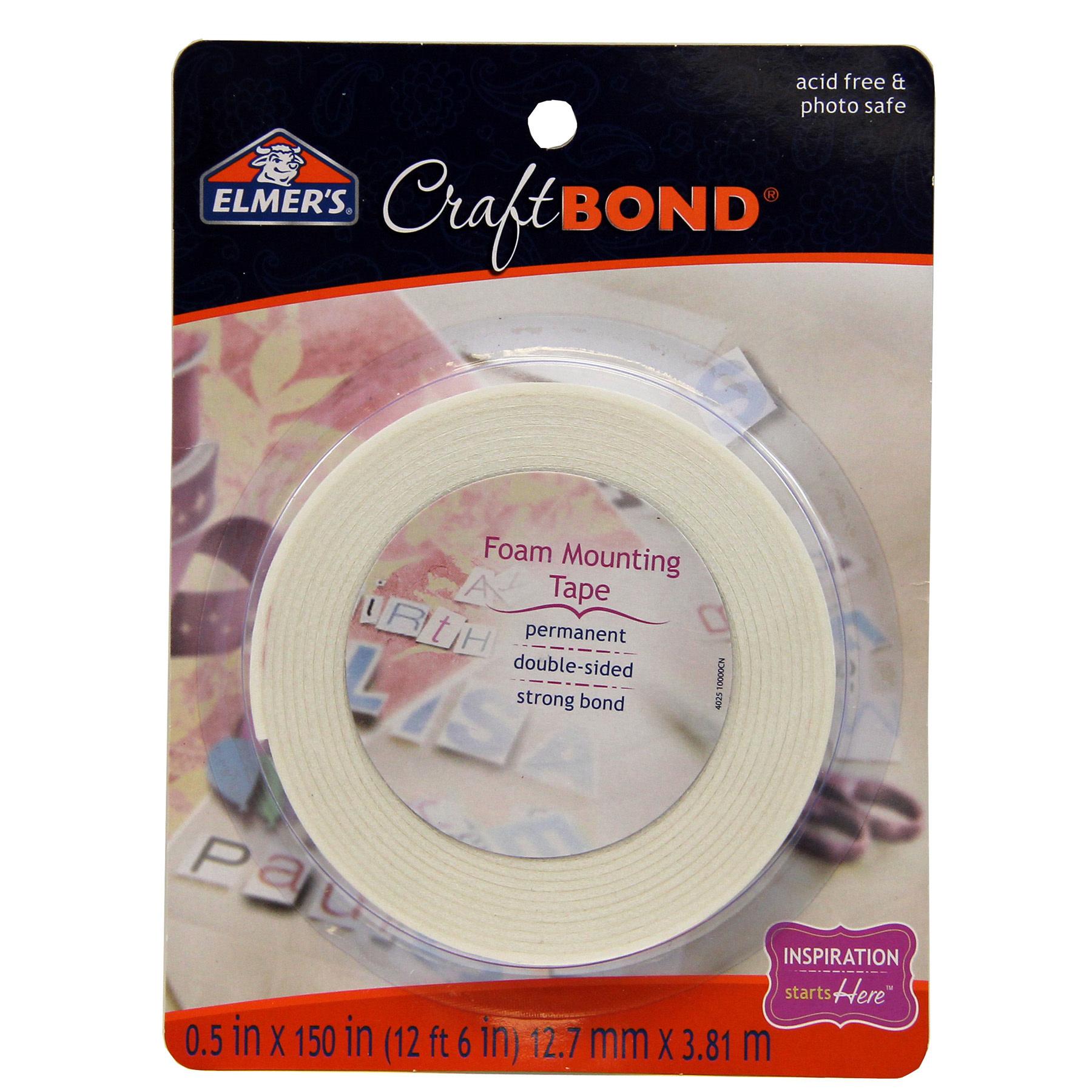 Elmer's Double Sided Foam Mounting Tape