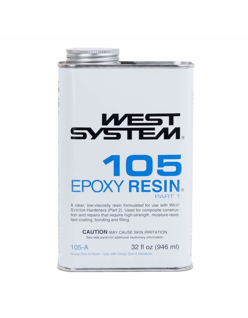 West System 105A Epoxy Resin Quart
