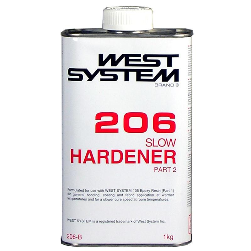 West System 206B Slow Hardener 27.5oz
