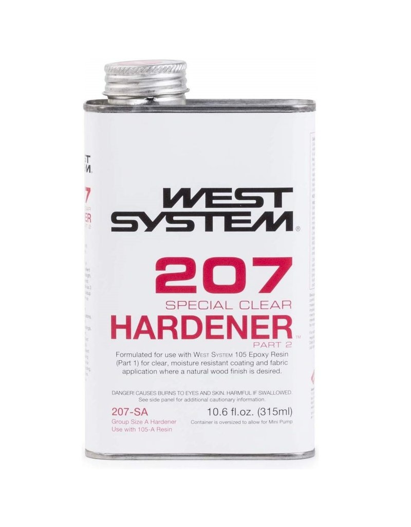 West System 207SA Special Clear Hardener 10.6oz